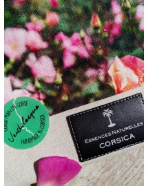 Pochette motif Rosa Chinensis